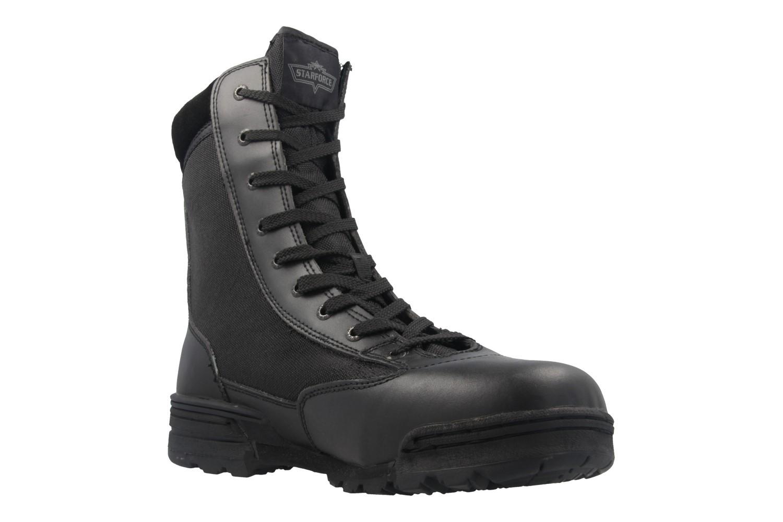 STARFORCE - Herren Stiefel - Combat Hi - Schwarz Schuhe in Übergrößen – Bild 5