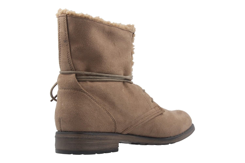 Fitters Footwear Boots in Übergrößen Braun 2.252311W taupe mf große Damenschuhe – Bild 3