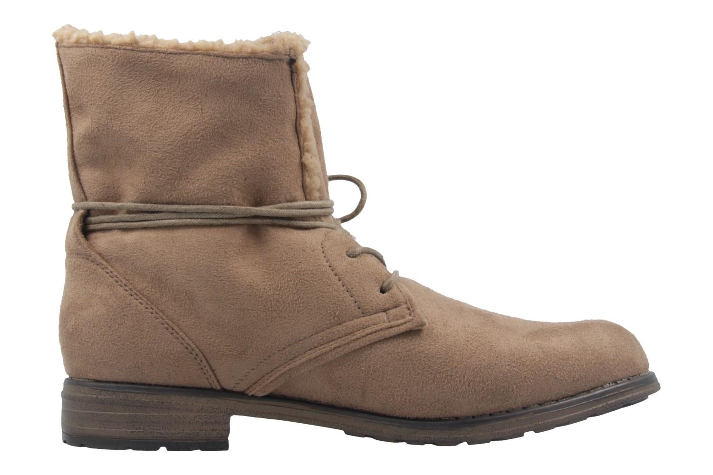 Fitters Footwear Boots in Übergrößen Braun 2.252311W taupe mf große Damenschuhe – Bild 4