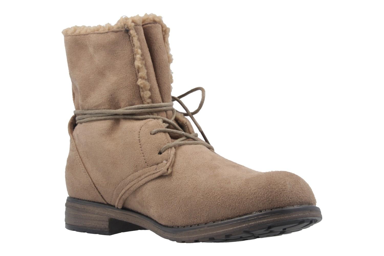 Fitters Footwear Boots in Übergrößen Braun 2.252311W taupe mf große Damenschuhe – Bild 5
