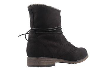 Fitters Footwear Boots in Übergrößen Schwarz 2.252311W black mf große Damenschuhe – Bild 3