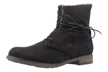 FITTERS FOOTWEAR - Hanna - Damen Booties - Schwarz Schuhe in Übergrößen – Bild 1