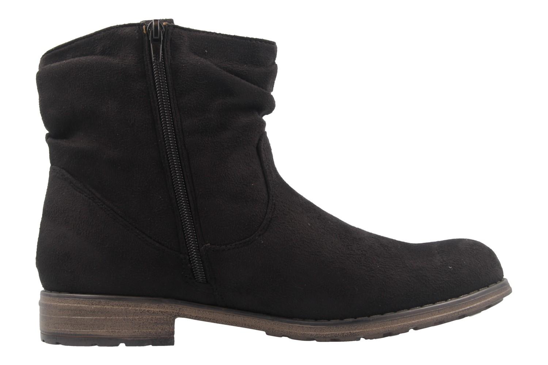 FITTERS FOOTWEAR - Kate - Damen Booties - Schwarz Schuhe in Übergrößen – Bild 4