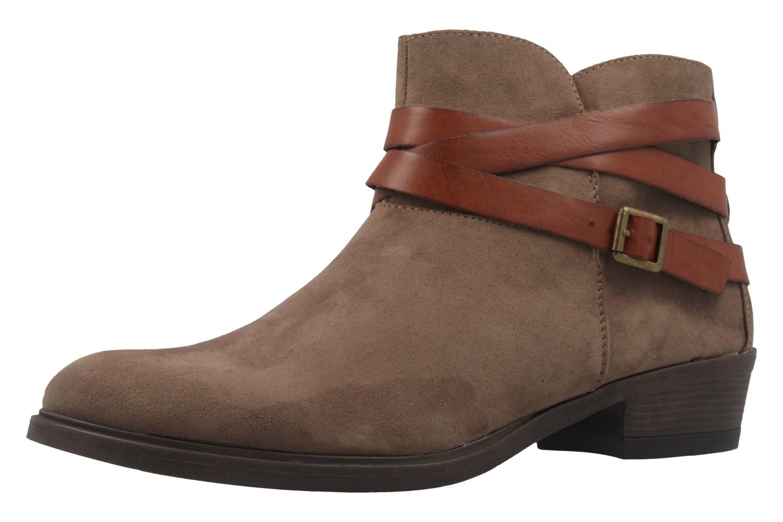FITTERS FOOTWEAR - Polly - Damen Booties - Taupe Schuhe in Übergrößen – Bild 1