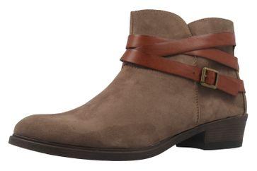 Fitters Footwear Boots in Übergrößen Braun 2.465801 Taupe mf große Damenschuhe – Bild 1