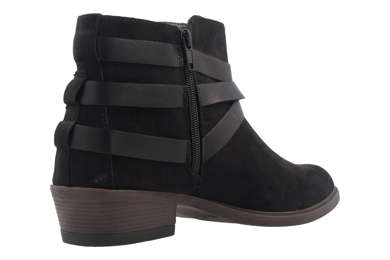 Fitters Footwear Boots in Übergrößen Schwarz 2.465801 black mf große Damenschuhe – Bild 3