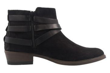 Fitters Footwear Boots in Übergrößen Schwarz 2.465801 black mf große Damenschuhe – Bild 4