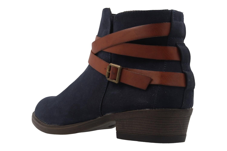 Fitters Footwear Boots in Übergrößen Blau 2.465801 navy mf große Damenschuhe – Bild 2