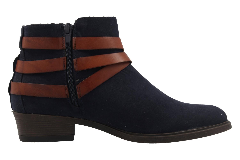 Fitters Footwear Boots in Übergrößen Blau 2.465801 navy mf große Damenschuhe – Bild 4