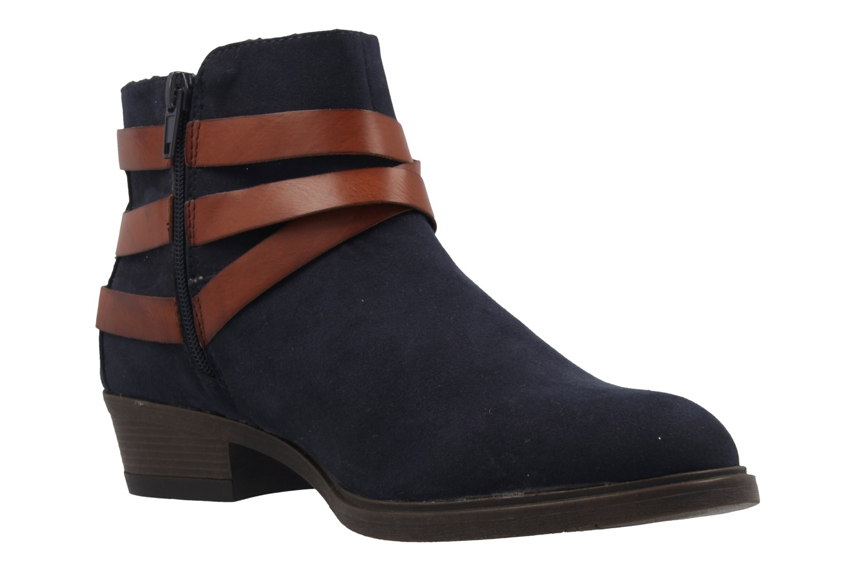 Fitters Footwear Boots in Übergrößen Blau 2.465801 navy mf große Damenschuhe – Bild 5