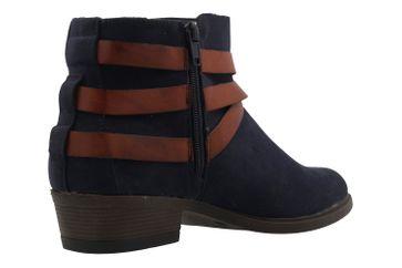 FITTERS FOOTWEAR - Polly - Damen Booties - Blau Schuhe in Übergrößen – Bild 3
