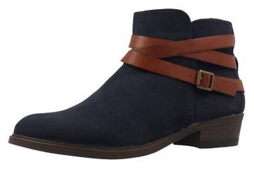 FITTERS FOOTWEAR - Polly - Damen Booties - Blau Schuhe in Übergrößen
