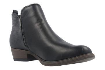 Fitters Footwear Boots in Übergrößen Schwarz 2.466002 Black PU große Damenschuhe – Bild 5