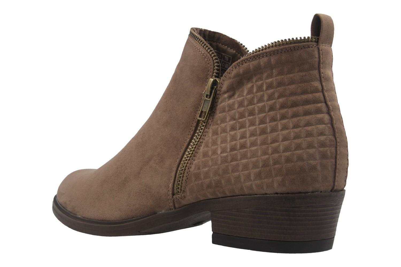 FITTERS FOOTWEAR - Lena - Damen Booties - Taupe Schuhe in Übergrößen – Bild 2