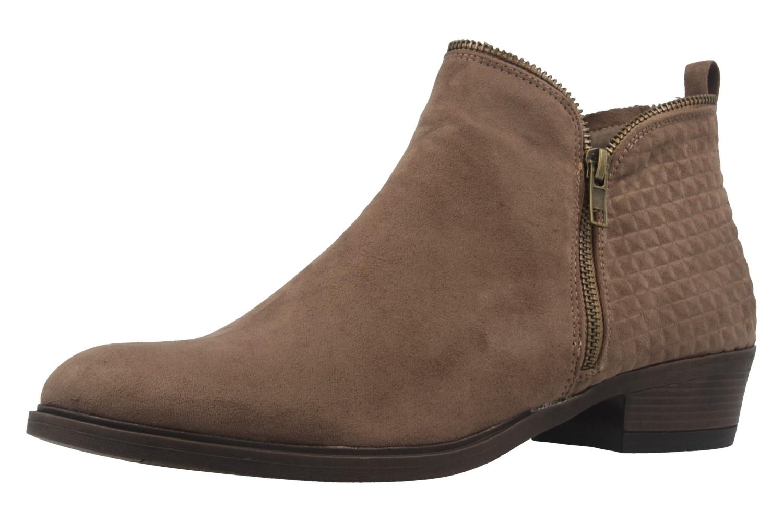 Fitters Footwear Boots in Übergrößen Beige 2.466022 Taupe MF große Damenschuhe – Bild 1