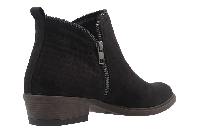 FITTERS FOOTWEAR - Lena - Damen Booties - Schwarz Schuhe in Übergrößen – Bild 3