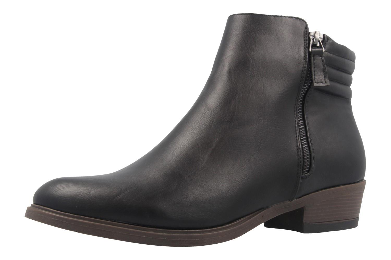 FITTERS FOOTWEAR - Cindy - Damen Booties - Schwarz Schuhe in Übergrößen – Bild 1