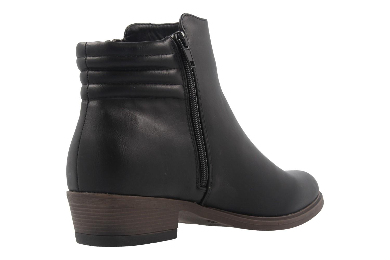 FITTERS FOOTWEAR - Cindy - Damen Booties - Schwarz Schuhe in Übergrößen – Bild 3