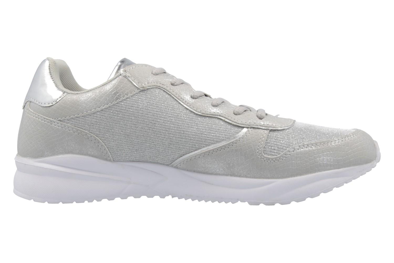 Fitters Footwear Sneaker in Übergrößen Silber 2.657101 Silver Glitter große Damenschuhe – Bild 4