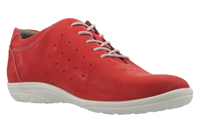 JOMOS - Damen Halbschuhe - Rot Schuhe in Übergrößen – Bild 5