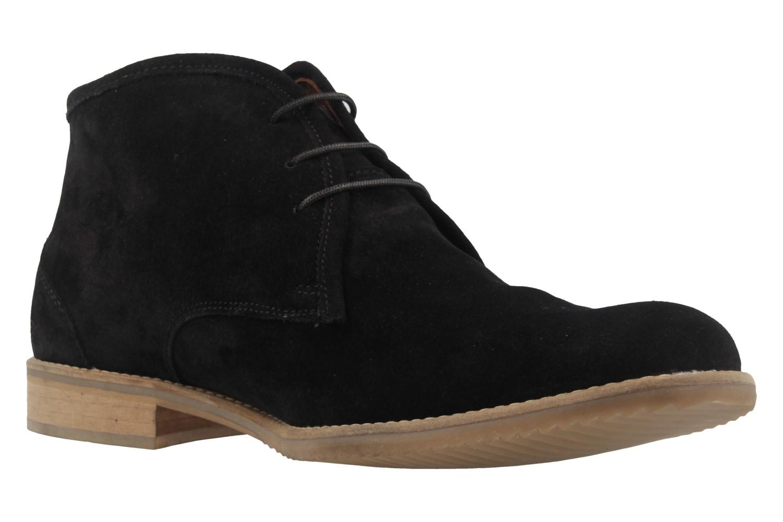 MANZ - Herren Desert Boots - Pescara - Schwarz Schuhe in Übergrößen – Bild 5