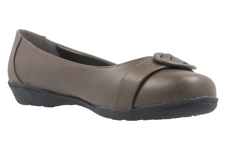 ANDRES MACHADO - Damen Ballerinas - Braun Schuhe in Übergrößen – Bild 5