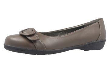 ANDRES MACHADO - Damen Ballerinas - Braun Schuhe in Übergrößen