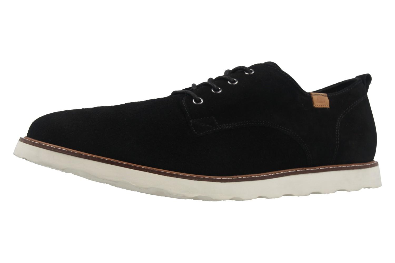 BORAS - Herren Halbschuhe - Vantage - Schwarz Schuhe in Übergrößen – Bild 1