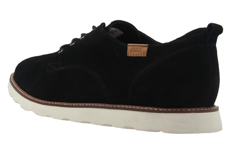 BORAS - Herren Halbschuhe - Vantage - Schwarz Schuhe in Übergrößen – Bild 2