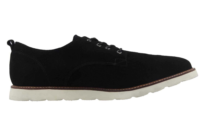 BORAS - Herren Halbschuhe - Vantage - Schwarz Schuhe in Übergrößen – Bild 4