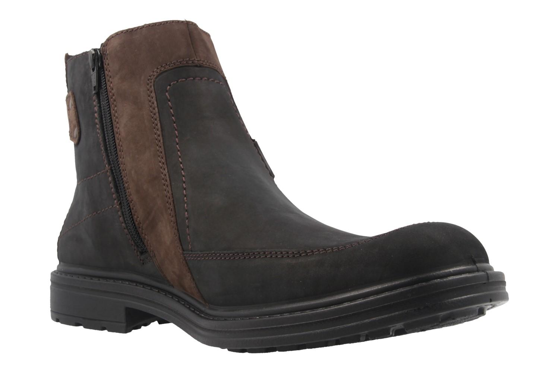 JOMOS - Herren Boots - Schwarz/Braun Schuhe in Übergrößen – Bild 5