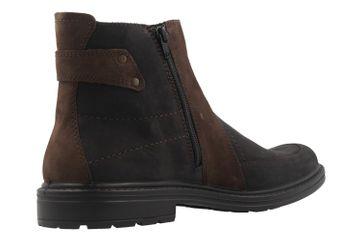 JOMOS - Herren Boots - Schwarz/Braun Schuhe in Übergrößen – Bild 3