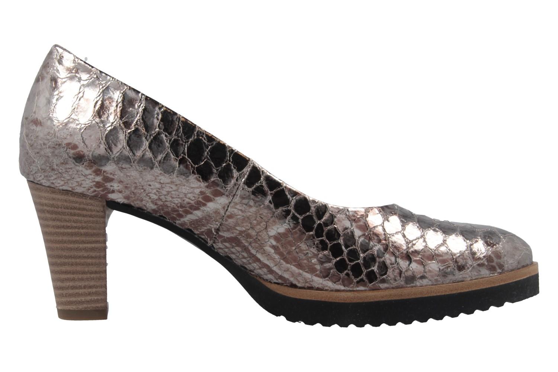 GABOR comfort - Damen Pumps - Silber Schuhe in Übergrößen – Bild 4
