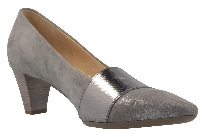 GABOR - Damen Pumps - Grau Schuhe in Übergrößen – Bild 5