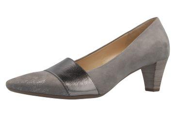 GABOR - Damen Pumps - Grau Schuhe in Übergrößen