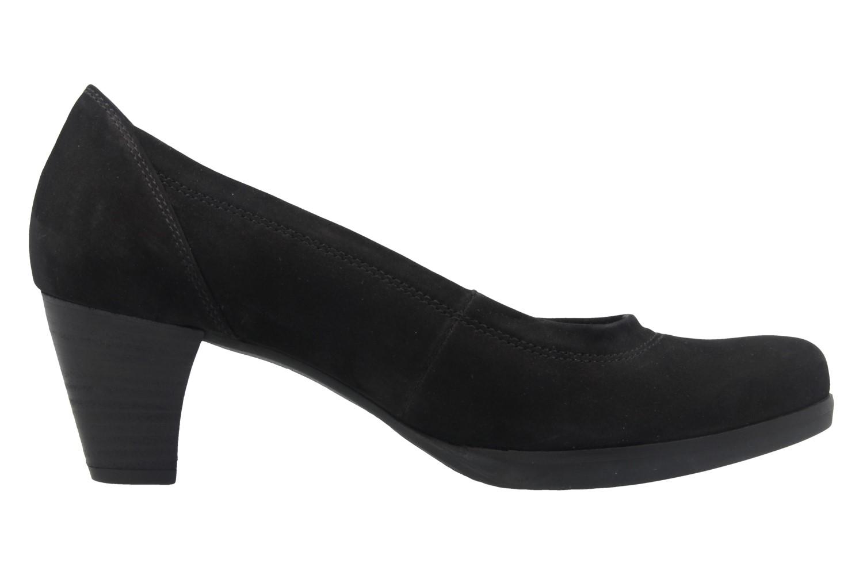 Gabor Comfort Fashion Pumps in Übergrößen Schwarz 02.080.47 große Damenschuhe – Bild 4