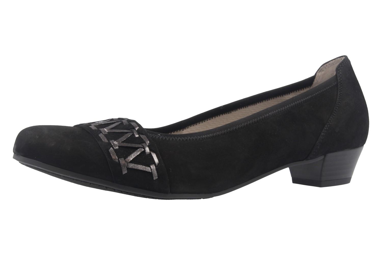 GABOR comfort - Damen Pumps - Schwarz Schuhe in Übergrößen – Bild 1