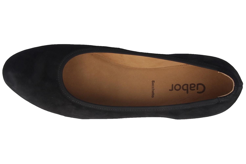 GABOR - Damen Keil-Pumps - Schwarz Schuhe in Übergrößen – Bild 6