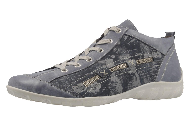 REMONTE - Damen Halbschuhe - Blau Schuhe in Übergrößen – Bild 1
