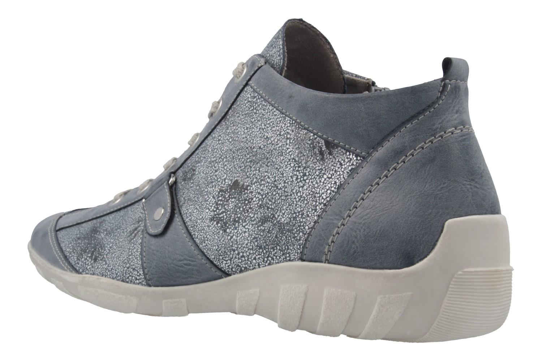 REMONTE - Damen Halbschuhe - Blau Schuhe in Übergrößen – Bild 2