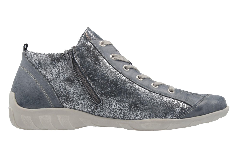 REMONTE - Damen Halbschuhe - Blau Schuhe in Übergrößen – Bild 4
