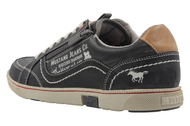 Mustang Shoes Sneaker in Übergrößen Grau 4073-302-200 große Herrenschuhe – Bild 2