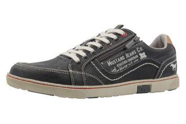 Mustang Shoes Sneaker in Übergrößen Grau 4073-302-200 große Herrenschuhe – Bild 1