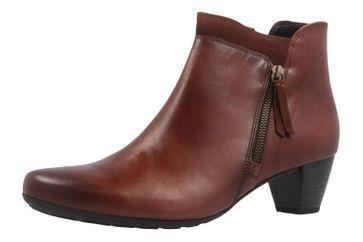 GABOR comfort - Damen Stiefeletten - Braun Schuhe in Übergrößen
