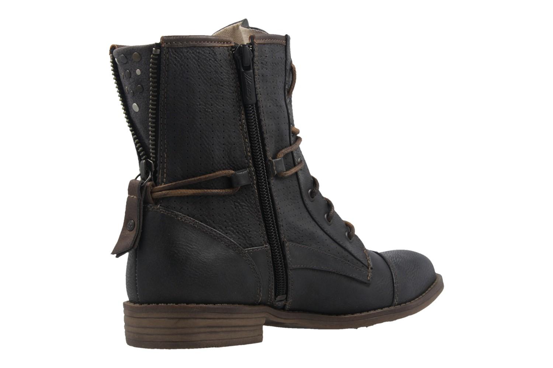 MUSTANG - Damen Boots - Graphit Schuhe in Übergrößen – Bild 3