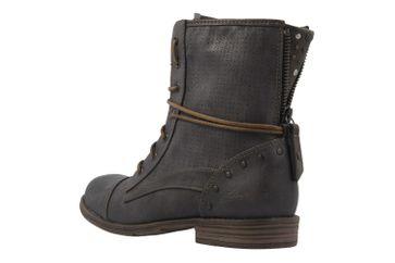 Mustang Shoes Boots in Übergrößen Grau 1157-503-20 große Damenschuhe – Bild 2
