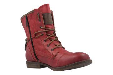 MUSTANG - Damen Boots - Rot Schuhe in Übergrößen – Bild 5