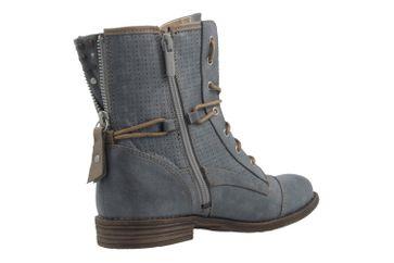 Mustang Shoes Boots in Übergrößen Blau 1157-503-875 große Damenschuhe – Bild 3
