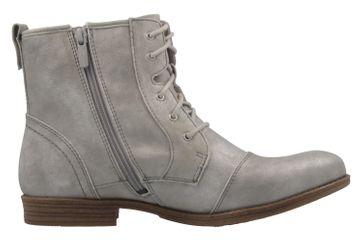 Mustang Shoes Boots in Übergrößen Silber 1157-543-21 große Damenschuhe – Bild 4