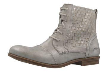 Mustang Shoes Boots in Übergrößen Silber 1157-543-21 große Damenschuhe – Bild 1